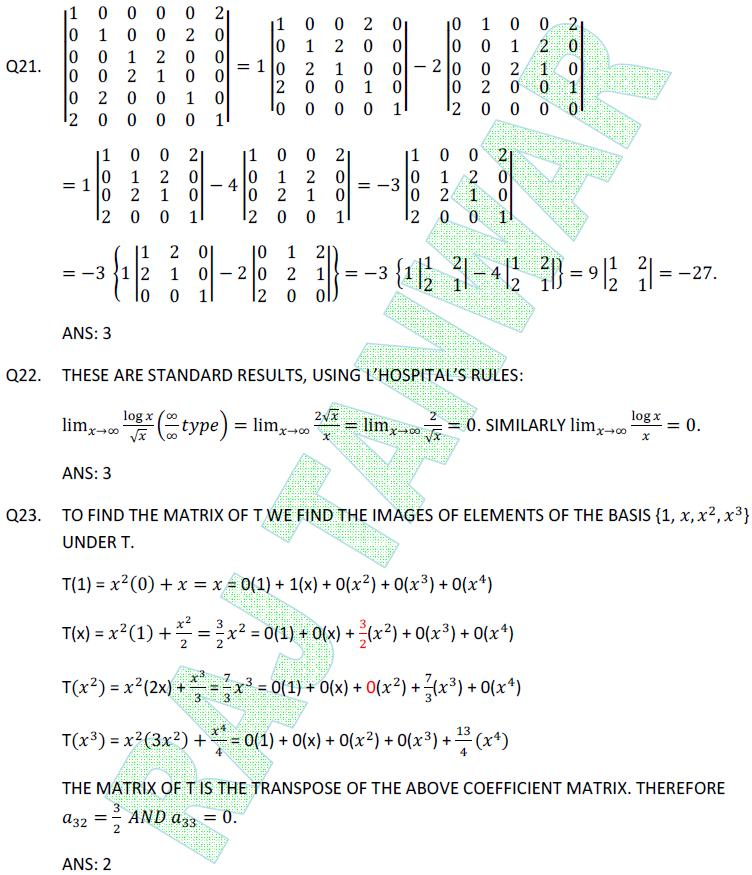 math net june 2011 | Raj Tanwar